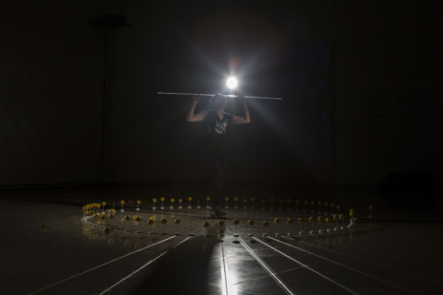 Akemi Takeya. Lemonism x Symbolism. Photo by Karolina Miernik. Leopold Museum 2017